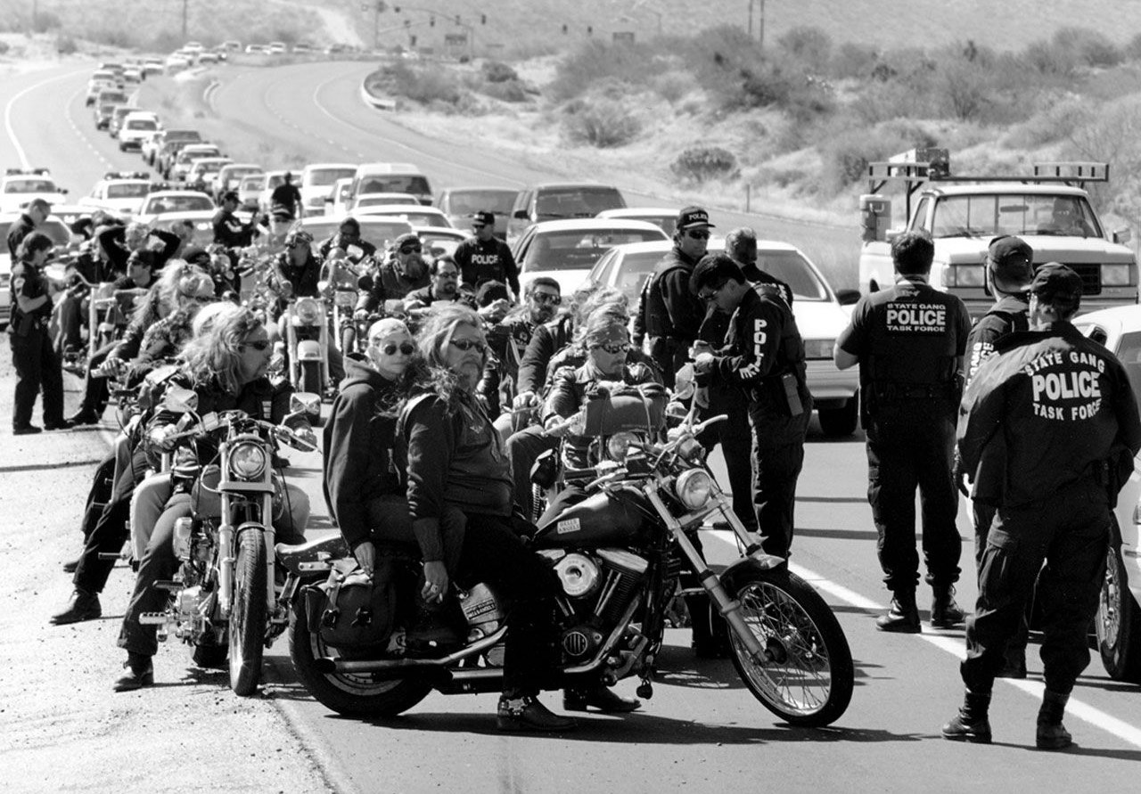 hells angels rules and the police