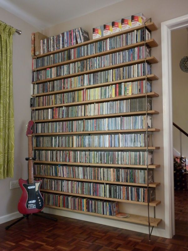 household items, CDs