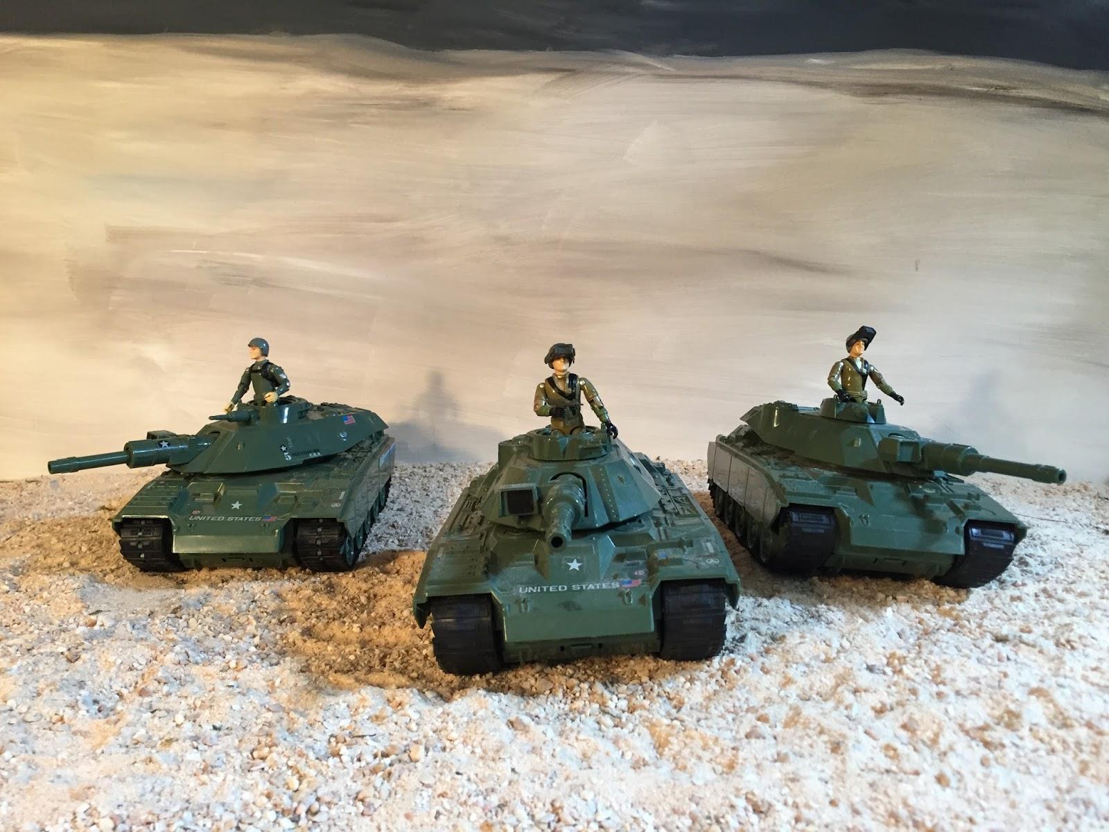 household items, GI Joe battle tanks