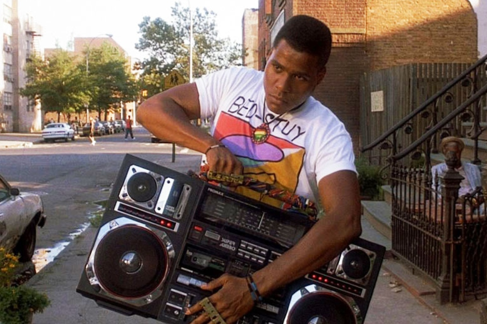 household items, boombox