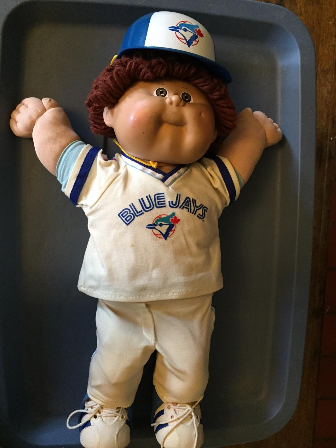 household items, cabbage patch kids