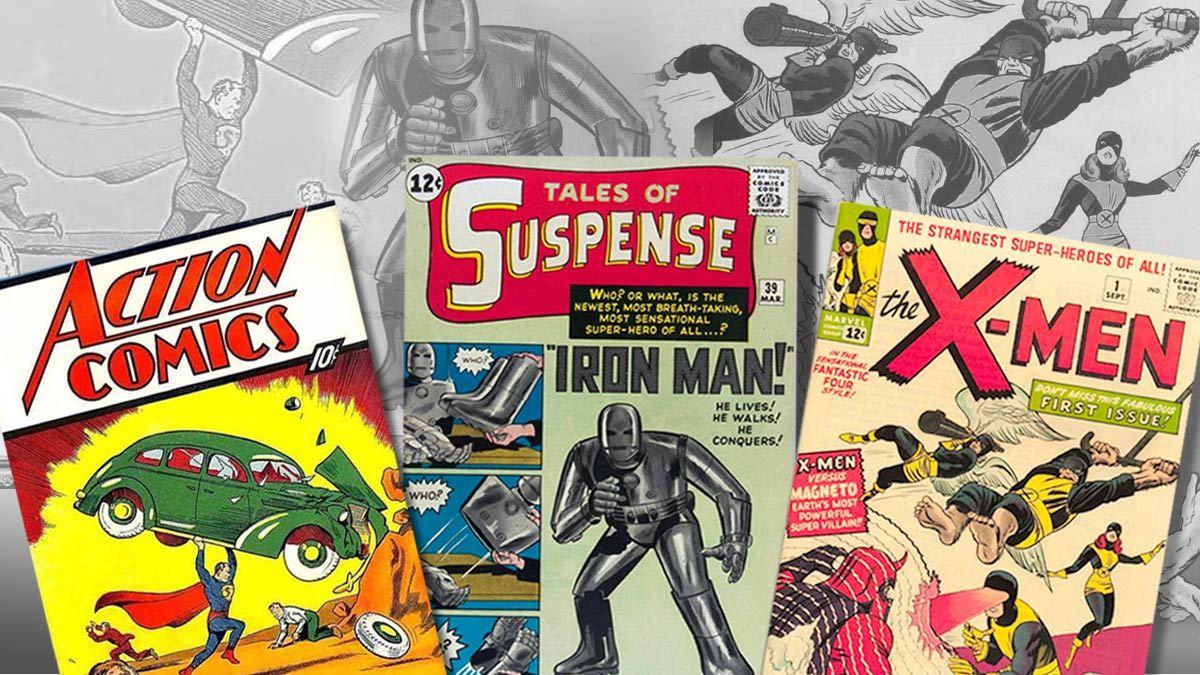 household items, comic books