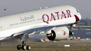 Qatar Airways emergency landing