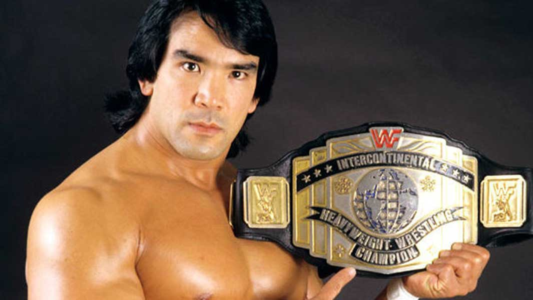"""Ricky """"The Dragon"""" Steamboat Then"""