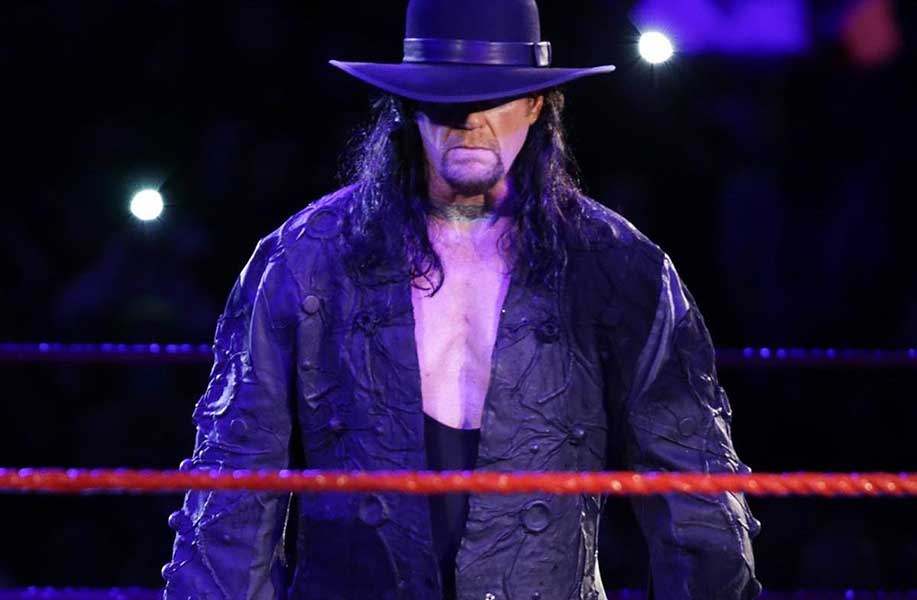 The Undertaker Then