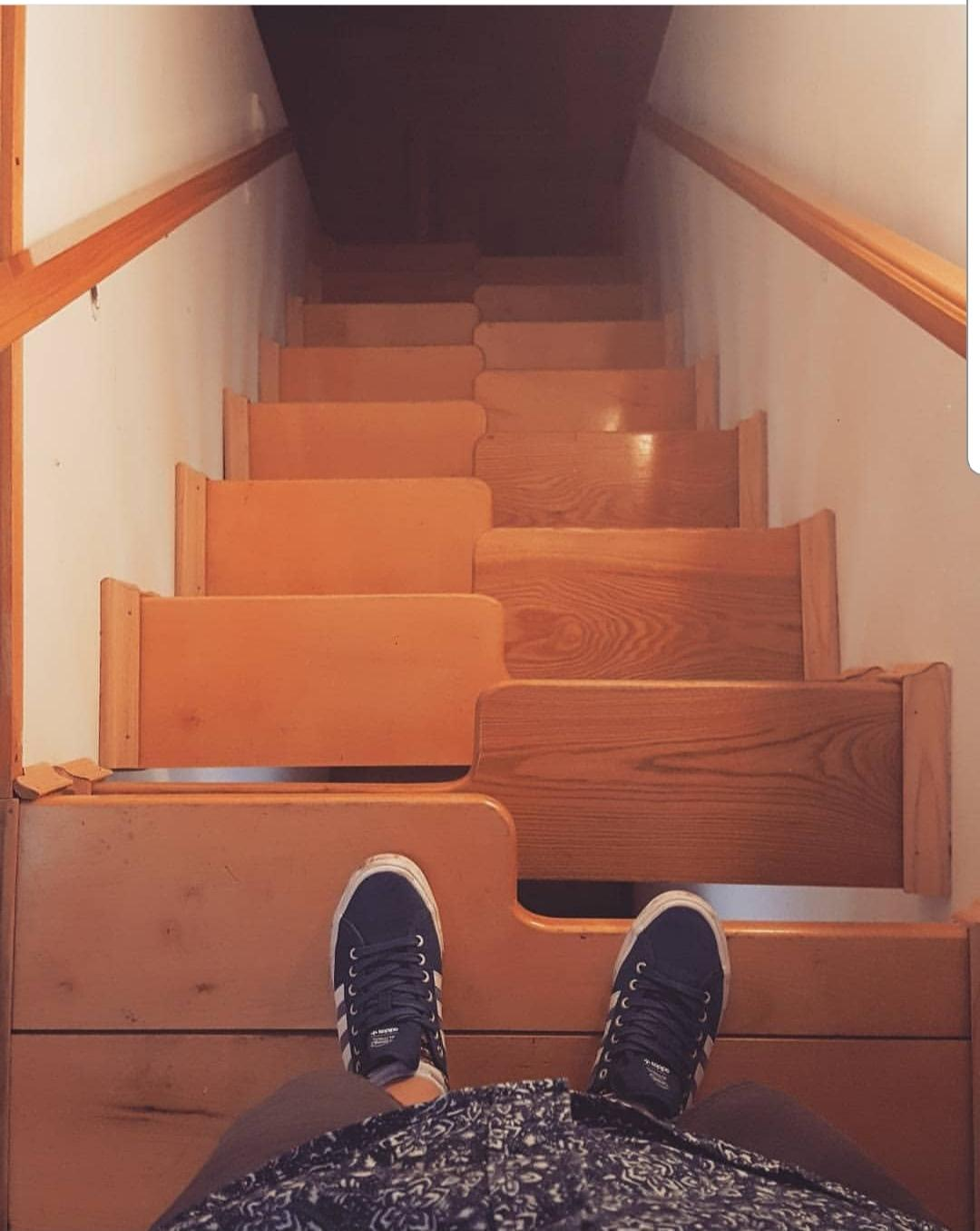 some stairs that go somewhere